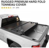 """Truck cover in excellent condition. 81""""x 71"""". I sold my F250 and don't need. Save big $ on buying new. Bought this one at H&H for about $800. Asking $395. Two [PHONE NUMBER HIDDEN]  Great Christmas Gift!!"""