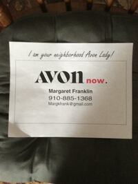 Avon body and face products Fayetteville