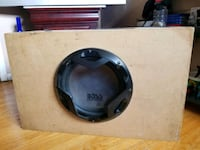 Boss subwoofer in a box with amplifier  Brampton, L6V