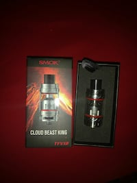 gray Smok atomizer with box