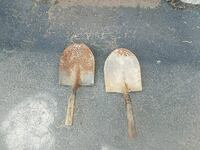 two gray shovel's East Haven, 06512