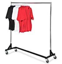 AMAZING Movable Clothing Rack with Cover Sale! New York, 10128