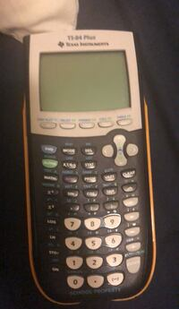 TI-84 Plus calculator  Washington, 20011