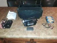 Camcorder, Cables, Case, and 2 cassettes Clearfield, 84015