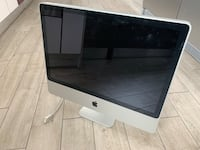 iMac 24 inch for parts, working with power cord, no keyboard or mouse