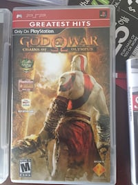 Gof of war chains of olympus sony psp case Fairborn, 45324