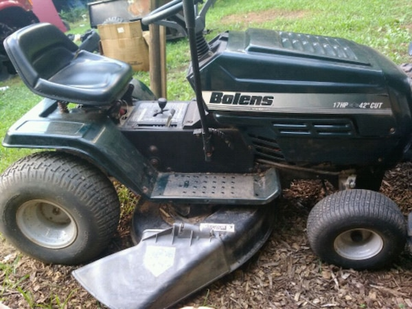 98 Bolens Mtd Riding Mower