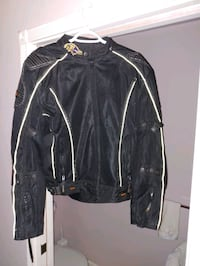 Xelement riding jacket with pads