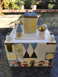 Disney Small World cookie jar. Limited edition Simi Valley, 93065