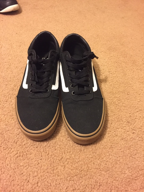 5d0424dc36 Used Pair of black vans low top sneakers for sale in Vacaville - letgo