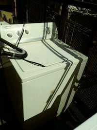 white top-load clothes washer Sunland Park, 88063