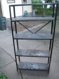 Metal Utility Shelf (local delivery $10) Bettendorf