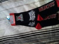 U of A bling socks 1935 mi