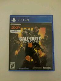 Call of Duty Black Ops 4 - Play Station 4