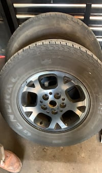 Jeep Grand Cherokee rims and tires Warwick