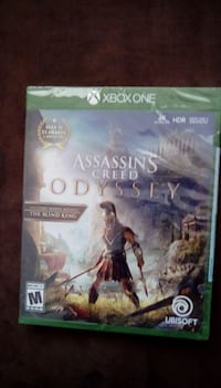 Assassins creed Odysseus for xbox one, unopened Homestead