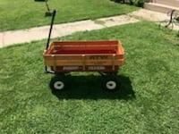 Radio Flyer Metal Wagon with Wood sides Waukesha, 53188