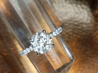 2 carat certified diamond ring Atlanta