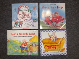 Random Set of 4 Children's picture books