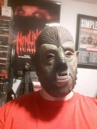 THE WOLFMAN MASK! HALLOWEEN IS COMING! Surrey, V3R 3J7