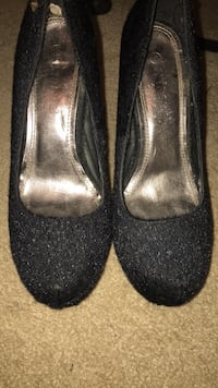 Shoes very high black heels size 9 Baltimore, 21215