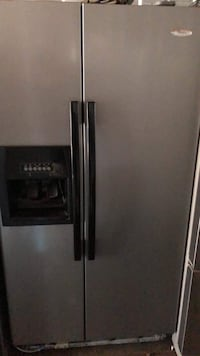 stainless steel side-by-side refrigerator with dispenser Westminster