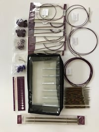 Knit Picks Interchangeable Circular Needle Set and Accessories