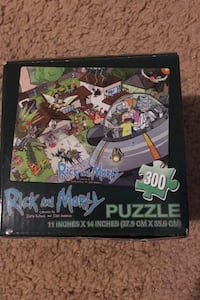 Rick and Morty puzzle Paterson, 07502