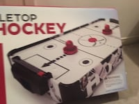 "NHL 27"" Wood Tabletop Air Hockey Mississauga"