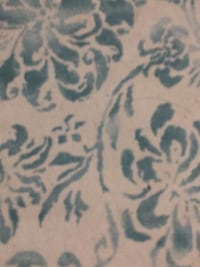 white and blue floral textile Hinsdale, 60521