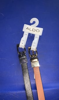Two toned two sided belts
