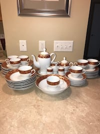Used Larchmont By Sango Fine China Dish Set For Sale In Rock Island