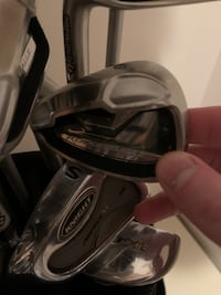 Men's TaylorMade Left Handed Rbz Clubs (7 Clubs)