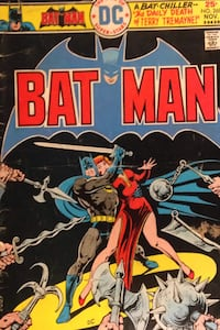 Bat Man comic
