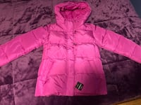 pink zip-up hooded jacket Toronto, M6A 2G4