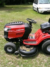 red and black Troy-Bilt riding mower Fayetteville, 28301