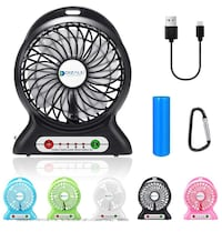 Mini portable rechargeable fans Corona, 92883