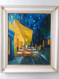 Beautiful white wooden framed painting of people Sunny Isles Beach, 33160