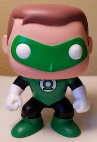 Funko Pop!! Green Lantern, 09. No box.