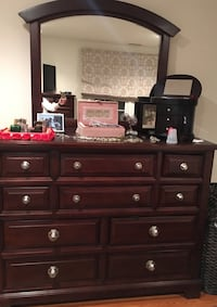 Dresser set, dark brown  Mc Lean, 22101