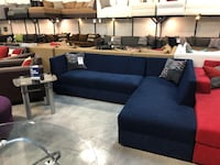 Navy Blue Sectional Sofa  Miami, 33144
