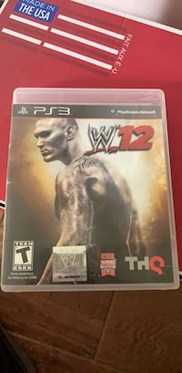 WWE 12 for PS3