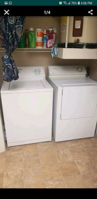 white washer and dryer set Austin, 78741