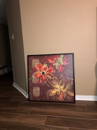 Large canvas painting from Pier 1.