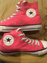 Pink converse all star high top sneakers Arlington, 76016