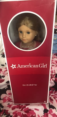 Elizabeth American girl doll with book and box