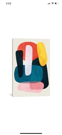 IKEA iCanvas Mischka by Tracie Andrews Canvas Wall Art Painting!