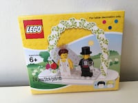 Lego Minifigure Wedding Favour Set #853340 new in box
