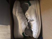 Sneakers Stan smith white leather green back size 4  Vaughan, L4L