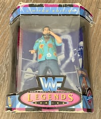 Captain Lou Albano  Wwf Legends Series1 Action Figure